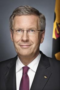 Bundespräsident Christian Wulff und Bettina Wulff / Offizielles Porträt 2010 und 2011