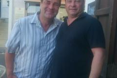 """Wirt """"Romeo"""" vom Restaurant """"Romeos"""" in Porto de Andratx mit Michael Weber"""
