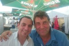 Jorge Campo mit Michael Weber