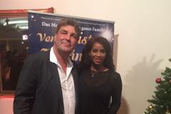 Liz Baffoe mit Michael Weber