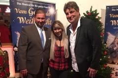 Heribert Reckenthäler mit Annemarie und Michael Weber